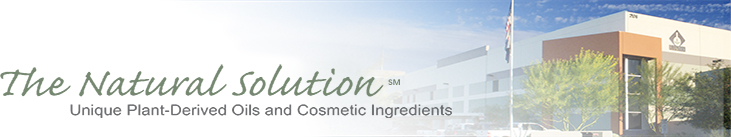 The Natural Solution- Unique Plant-Derived Oils and Cosmetic Ingredients